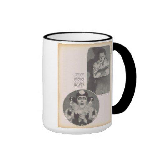 Taza 1922 del retrato del vintage de Theodore Kosl