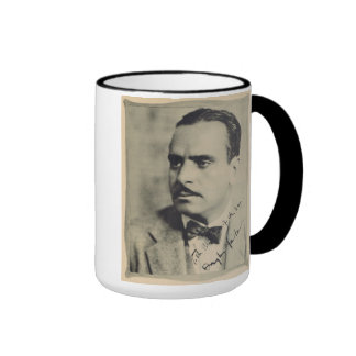 Taza 1923 del retrato del vintage de Douglas Fairb