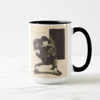 Taza 1923 del retrato del vintage de Mae Busch