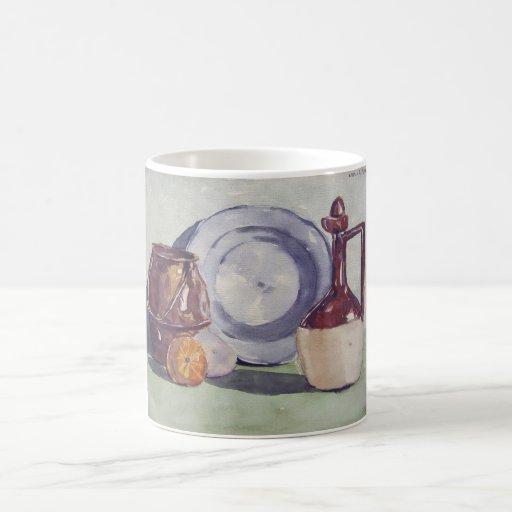 Taza 1940 del retrato del objeto de la cocina