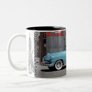 Taza 1951 de café clásica de encargo del coche de