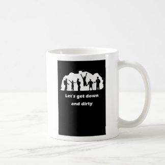 taza 1 de la cavadura