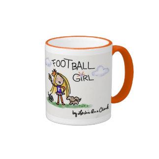 Taza 1 del chica del fútbol