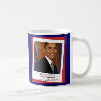 Taza 2009 del recuerdo de Obama Inaguration