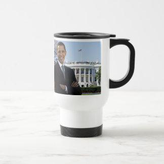 Taza 2009 del viaje de la inauguración de Obama