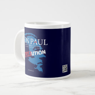 Taza 2012 de la especialidad de Ron Paul Tazas Extra Grande