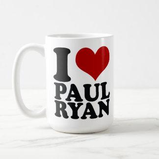Taza 2012 del té del café de Paul Ryan del corazón
