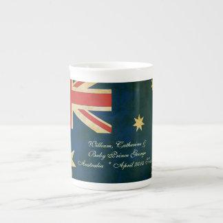 Taza 2014 de George Australia China del bebé de Ka Taza De Porcelana