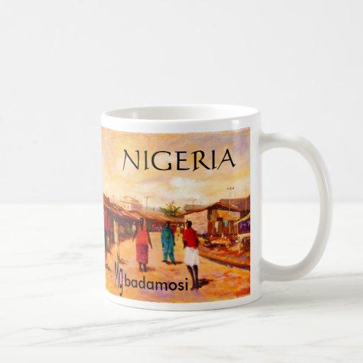 Taza 2 del campanero - Nigeria - modificada para