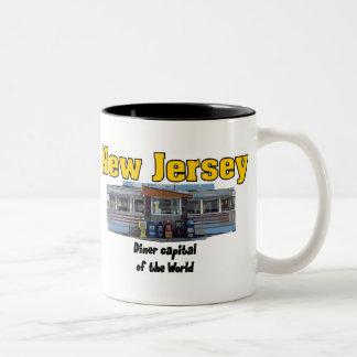 Taza 2 del comensal de NJ