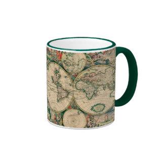 Taza #2 del mapa del mundo