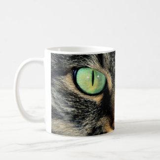 taza 325 ml ojos gato
