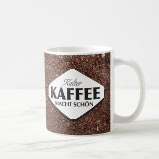 Taza 3 de Kalter Kaffee Macht Schön