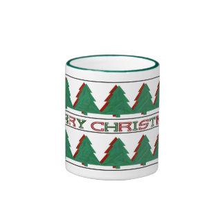 Taza 4 de las Felices Navidad