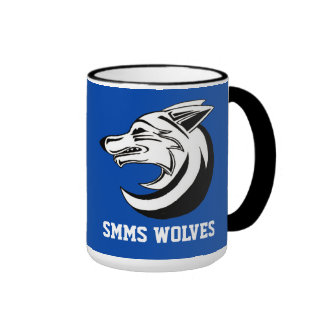 Taza 4 de los lobos de SMMS