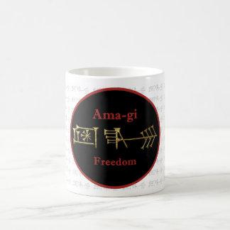 Taza 9 del oro de Amagi