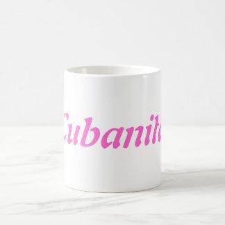 Taza a café Cubanita