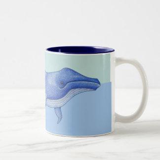 Taza a solas de la ballena