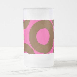 Taza abstracta de los círculos