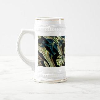 Taza abstracta decorativa