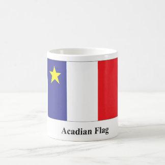 Taza acadiense de la bandera