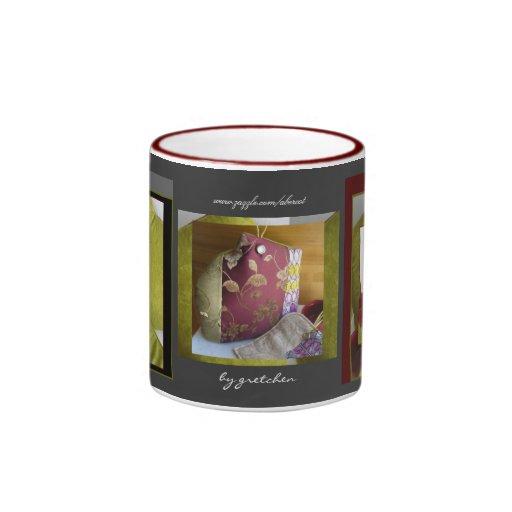 Taza acogedora chartreuse elegante de té de Borgoñ