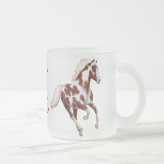 Taza adaptable del caballo del mustango de la pint