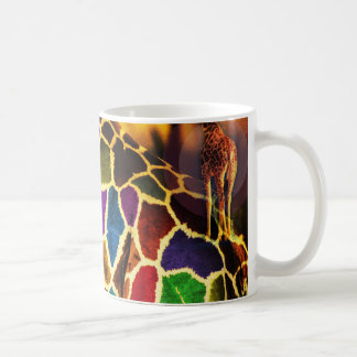 Taza africana de la jirafa