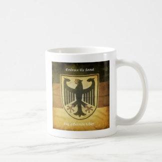 Taza alemana de la bandera