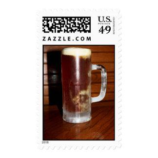 Taza alta de cerveza sello