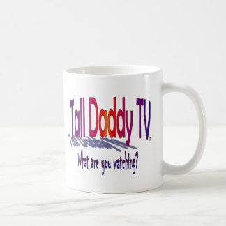 Taza alta del logotipo del papá