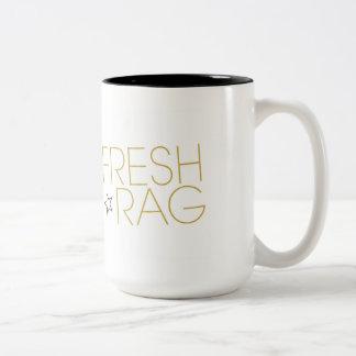 Taza alta del té y de café de Cuppa del trapo