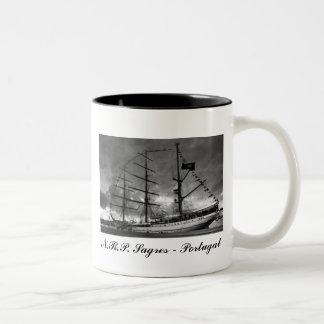 Taza alta portuguesa de la nave