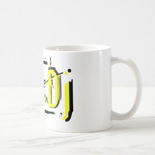 Taza amarilla de CJ