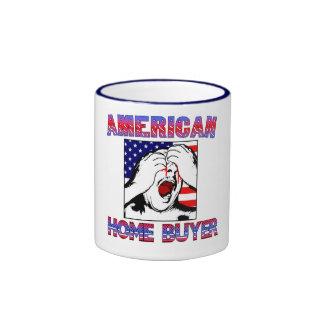 Taza americana del comprador de vivienda