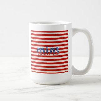 Taza americana del estilo de la menta