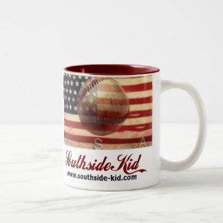Taza americana del niño de Southside