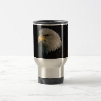 Taza americana del viaje de Eagle calvo