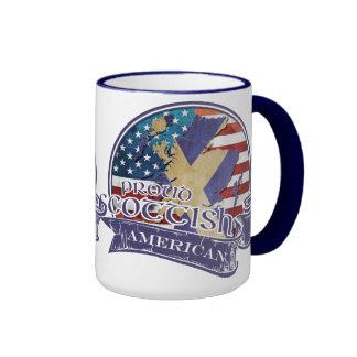 Taza americana escocesa orgullosa