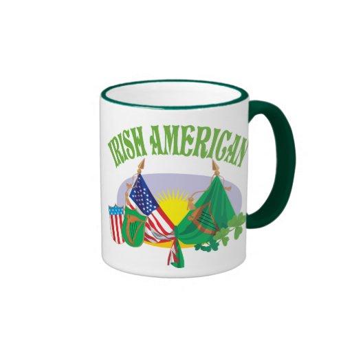 Taza americana irlandesa