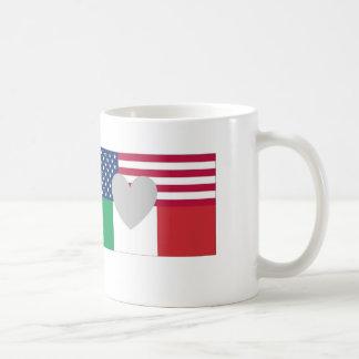 Taza americana italiana