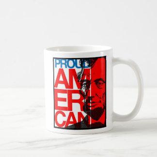 Taza americana orgullosa