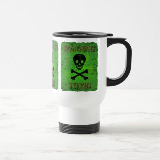 Taza amonestadora tóxica