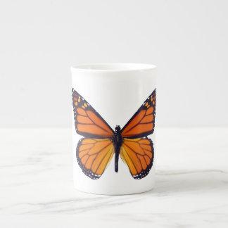 Taza anaranjada de la porcelana de hueso de la taza de porcelana