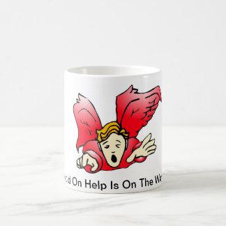 Taza - ángel rojo