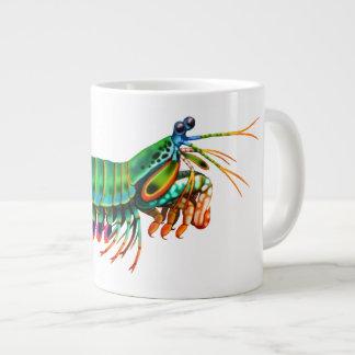 Taza animal de la especialidad del filón del camar taza extra grande
