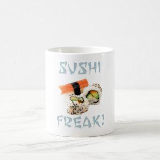 Taza anormal del sushi