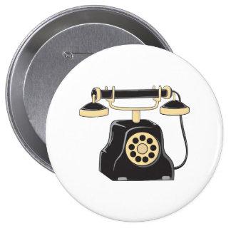 Taza antigua de encargo del colector del teléfono