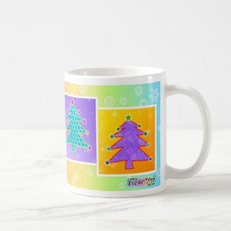 Taza - árboles de navidad del arte pop
