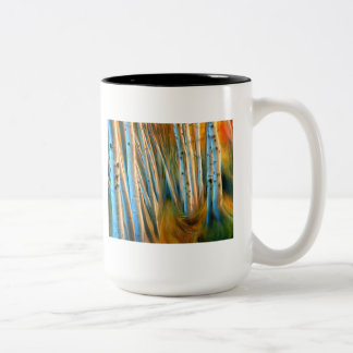 Taza ardiente del bosque